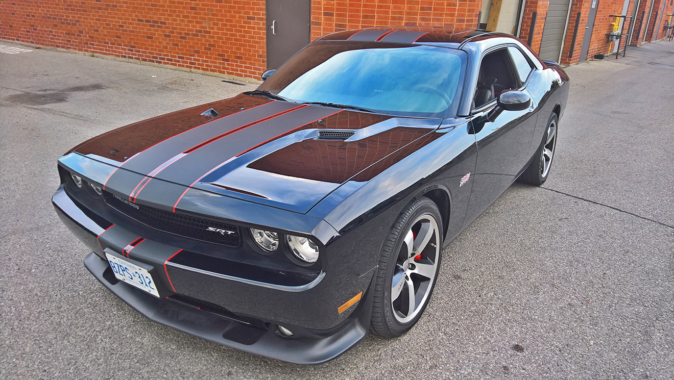 Dodge Challenger SRT8 Stripes