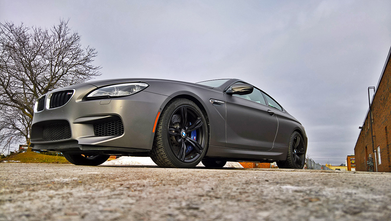 BMW M6 Matte Metallic Charcoal
