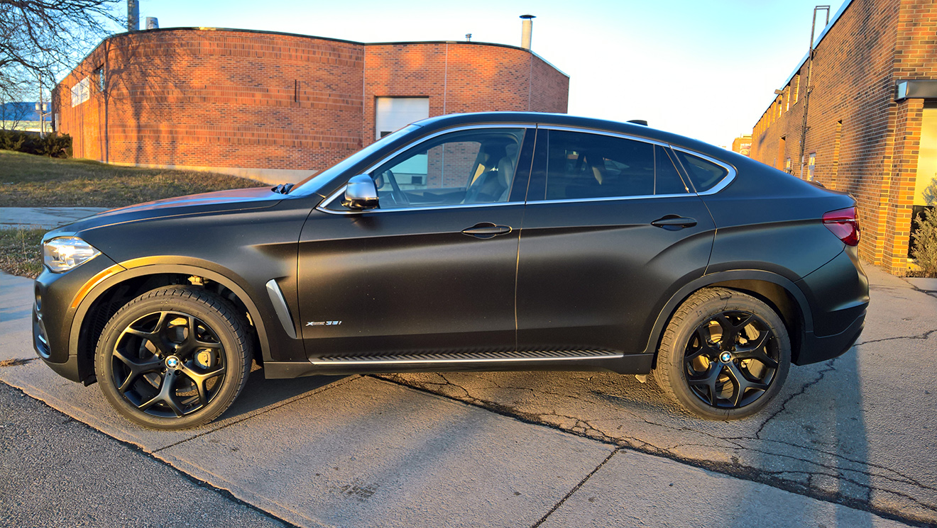 BMW X6 Satin Gold Dust