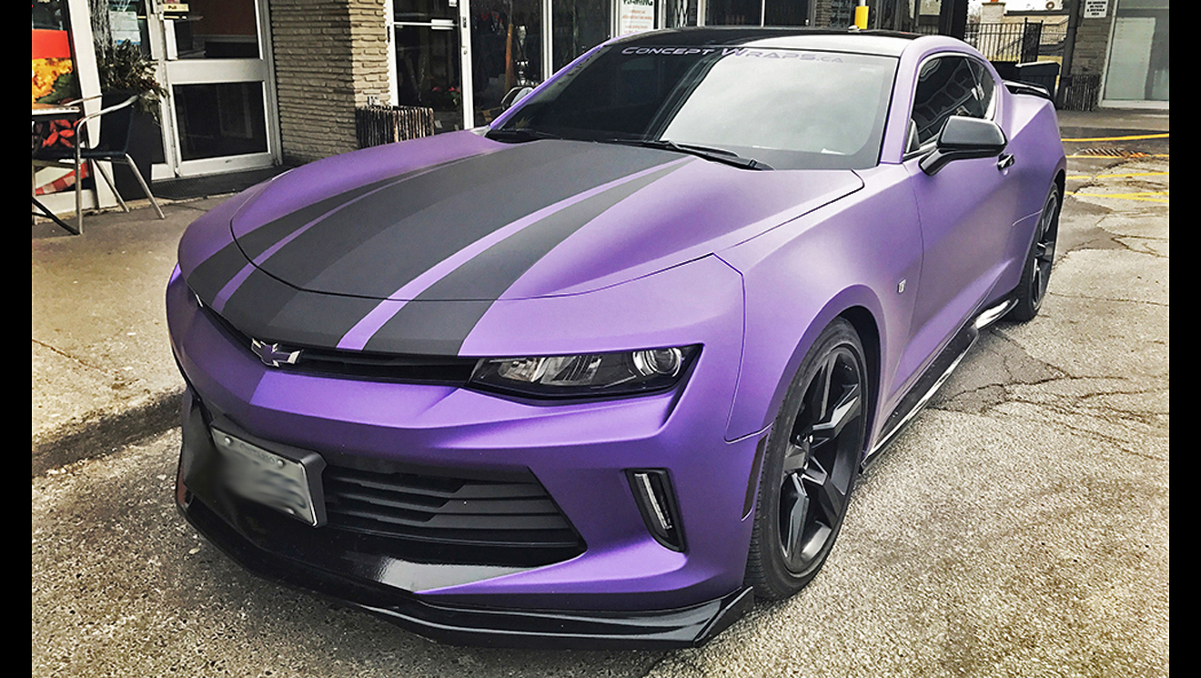 Camaro Matte Purple Metallic