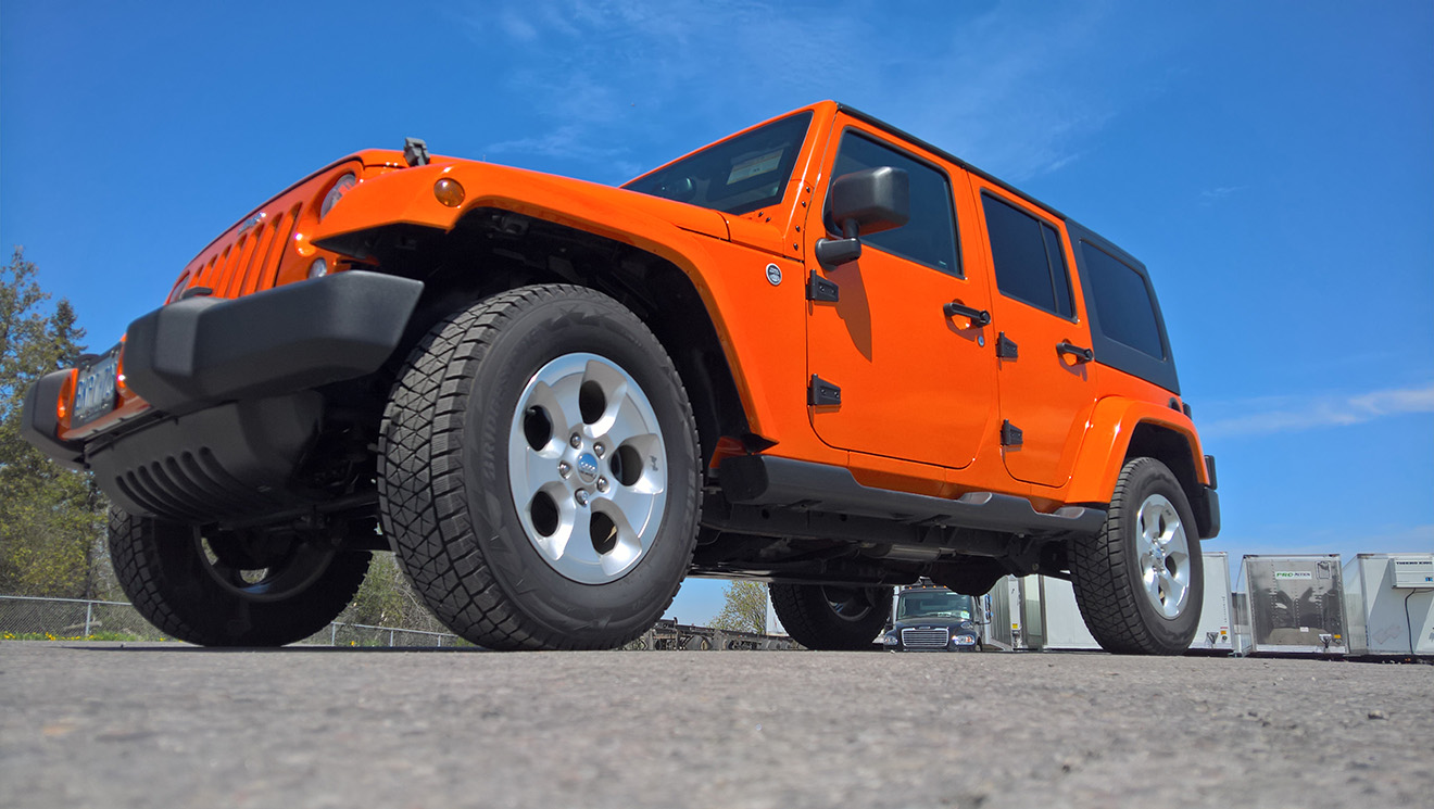 Jeep Wrangler 3M Bright Orange