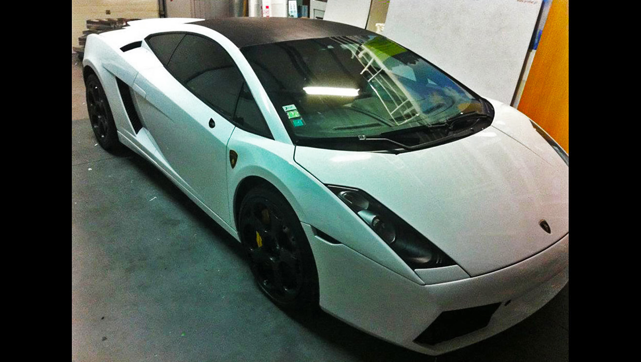 Lamborghini Gallardo Gloss White