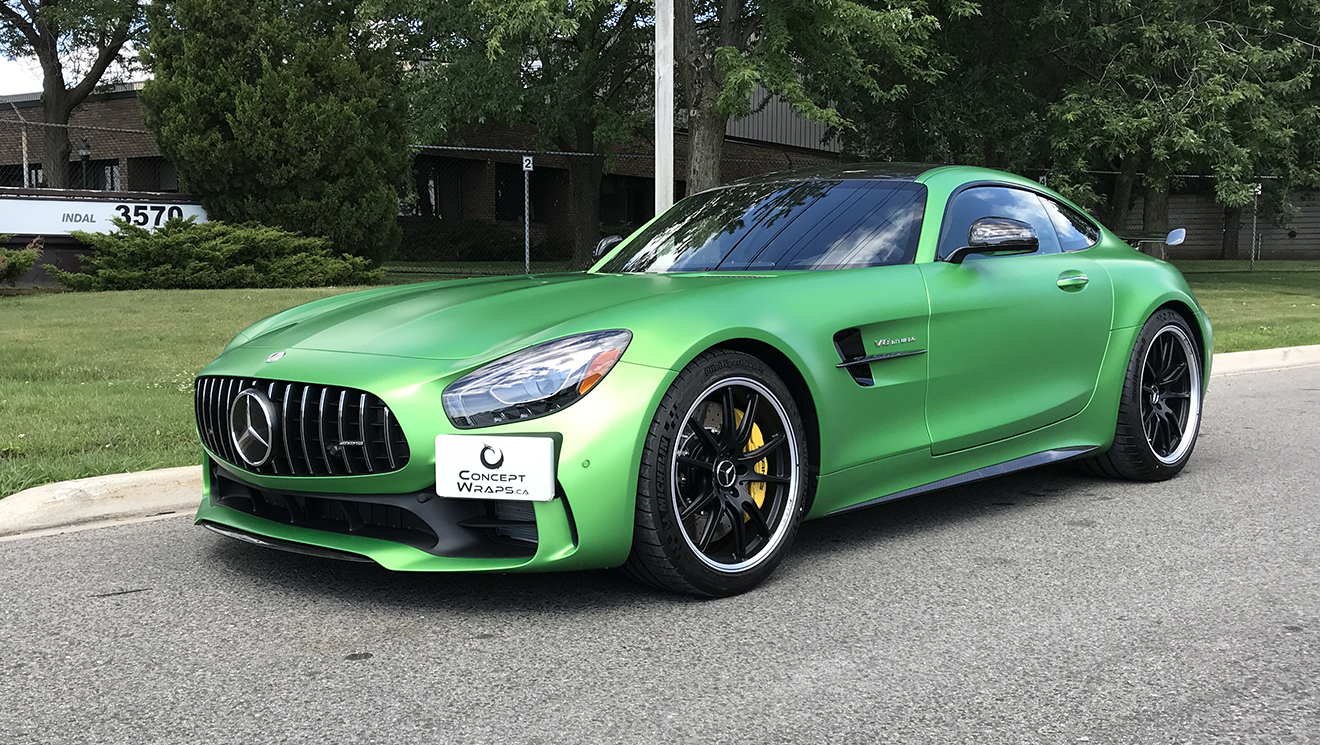 Mercedes AMG GTR Paint Protection